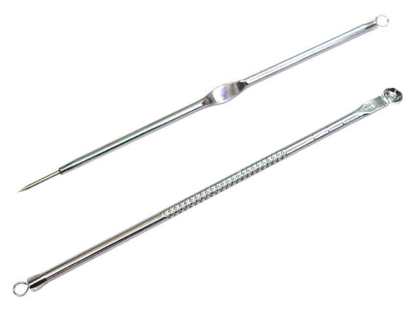 ที่กดสิว 2 หัวและเข็มเจาะ Acne stick รวม 2 แท่ง