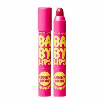 เมย์เบลลีน นิวยอร์ก เบบี้ ลิปส์ แคนดี้ ว้าว กลิ่นแบล็กเบอร์รี่ 2 กรัม MAYBELLINE NEW YORK BABY LIPS CANDY WOW BLACKBERRY 2 g