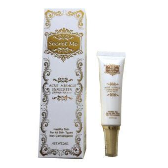 กันแดดเนื้อเจล20g Secret Me Acne Miracle Sunscreen SPF40 PA+++