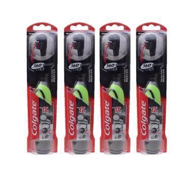 คอลเกต แปรงสีฟัน ไฟฟ้า 360 ชาร์โคล แพ็ค 1 (คละสี) X4