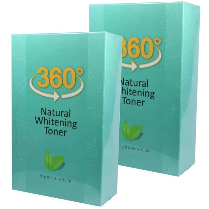 360 Natural Whitening Toner Serum ระเบิดฝ้ากระจุย (10 g.) 2 ขวด(360 Natural Whitening Toner_2)