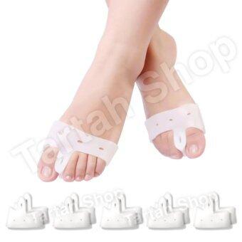 ซิลิโคนถนอมรักษานิ้วเท้า รองหน้าเท้า ฝ่าเท้าแตก ถนอมดูแลเท้าปวดเท้า รองช้ำ 5 คู่ (10 ชิ้น)