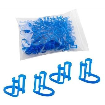 50pcs Dental Coil Clamp Oral Care Tool Dentist Disposable Clip Dental Supplies - intl