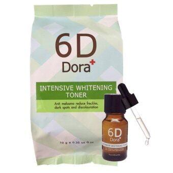 6D Dora+ Intensive Whitening Toner (6D Dora+โทนเนอร์สลายฝ้า กระ) 1ขวด