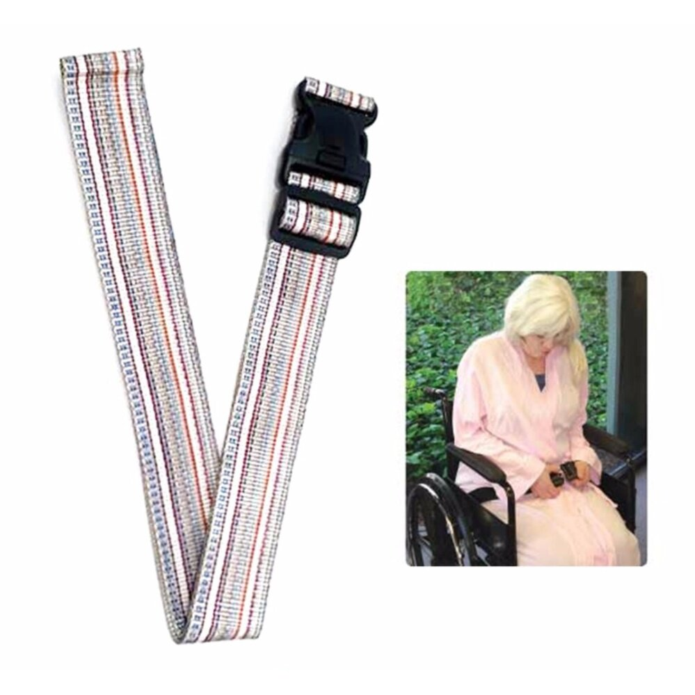 ขายดีมาก! a*bloom เข็มขัดนิรภัย สำหรับรถเข็นผู้ป่วย Safety Belt for Wheelchair (สีผสม)
