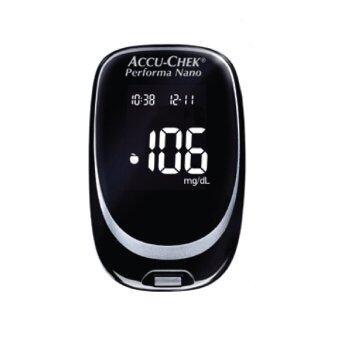 ACCU-CHEK PERFORMA NANO เครื่องตรวจวัดระดับน้ำตาลในเลือดด้วยตนเองแถมฟรี เครื่องชั่งน้ำหนัก