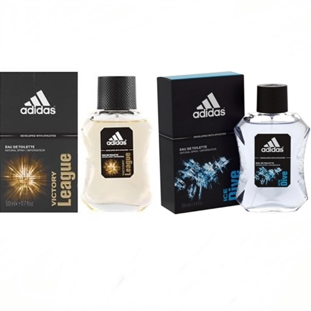 Adidas Ice Dive Adidas for men EDT 100 ml+Adidas Victory League For men 100ml.