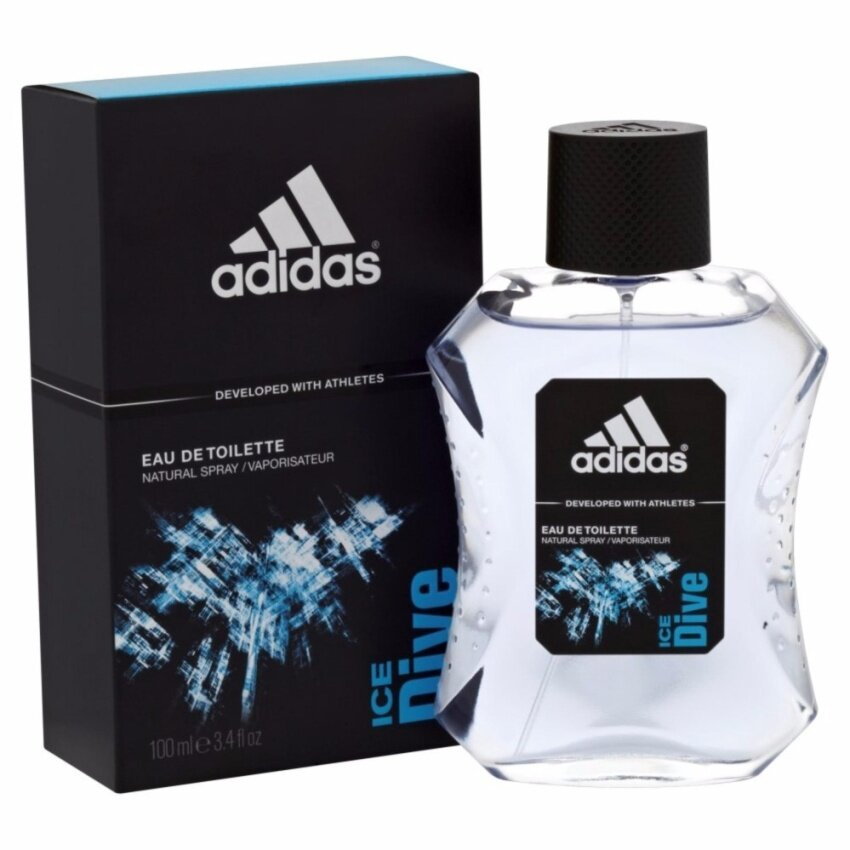 Adidas Ice Dive For Men EDT 100 ml. พร้อมกล่อง