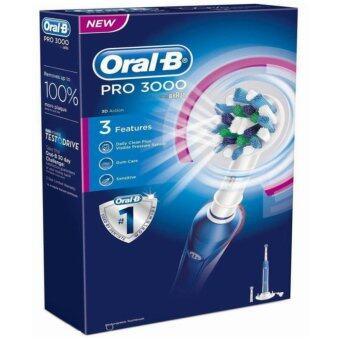 แปรงสีฟันไฟฟ้า Oral-B Pro 3000 Power RechargeableBraun