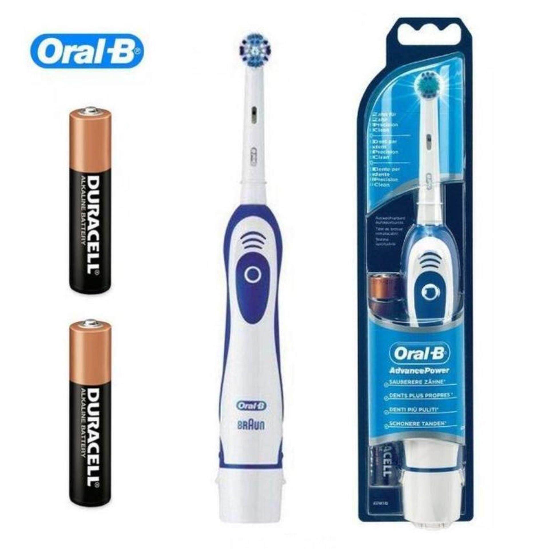 ยะลา Oral B Advance Power400 แปรงสีฟันไฟฟ้า ออรัล บี DB4010 Battery Powered Electric Toothbrush