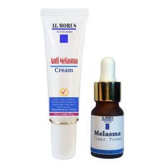 Al Morus Anti Melasma Cream & Melasma Clear Toner ครีมทาฝ้า โทนเนอร์