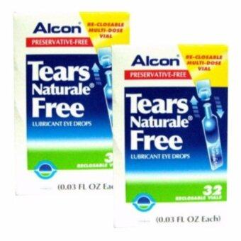 ALCON Tears Naturale Free - Preservative-free น้ำตาเทียม 0.03 FL.OZ (0.8 ml) 2 กล่อง