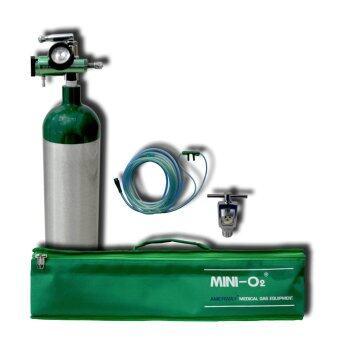 AMERWAY ชุดออกซิเจนหายใจ MINI-O2 รุ่น 3L (ถังเปล่า)