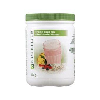 Amway Nutrilite นิวทริไลท์ โปรตีน 500กรัม รสมิกซ์เบอร์รี่