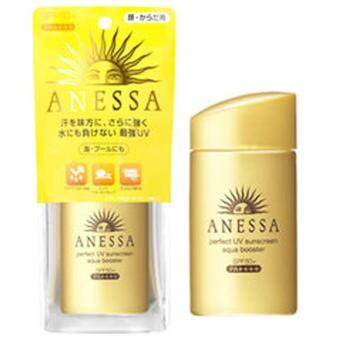 ครีมกันแดดชิเชโด้ anessa สีทอง 60ml. SPF50 PA+++ โปรพิเศษ ซื้อ 2 แถม 1