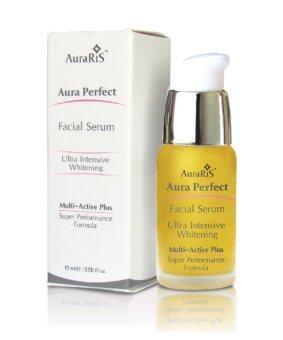 AuraRIS Facial Serum เซรั่มบำรุงผิวหน้า ครีมหน้าขาว ขาวสวยใส ลดสิว ฝ้า กระ จุดด่างดำ 15 ml.