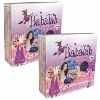 Babalah บาบาร่า แป้งเค้กทูเวย์ ผสมรองพื้น 2 Way 14 g. 2 ตลับ(เบอร์ 1)