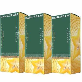 Ban Cream โทนเนอร์มะเฟือง x 3 ขวด