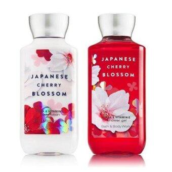 Bath and Body Works - Body LotionShower Gel กลิ่น Japanese Cherry Blossom