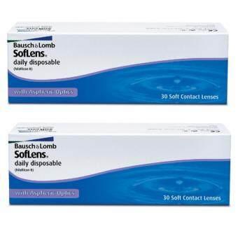 BauschLomb Soflens Daily แพ็ค 30 ชิ้น (2 กล่อง) คละเบอร์ได้