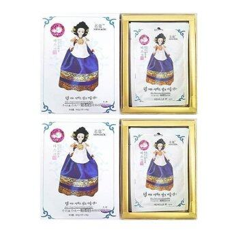 ประกาศขาย Belov MING KOU MILK PEARL WHITENING MASK(มาส์กเจ้าหญิงมิงกุสูตรไข่มุก) 1กล่อง บรรจุ 10 ชิ้น X 2 กล่อง