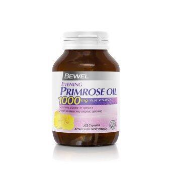 Bewel Evening Primrose Oil 1000mg Plus vitamin E (70 Capsule)