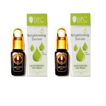 BFC Brightening Serum Ati Aging Moisturizing skin Repair 10 ml. เซรั่มหน้าหน้าใส( 2 กล่อง)