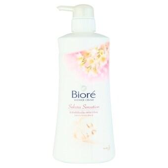 BIORE บิโอเรครีมอาบน้ำซากุระ 550มล.