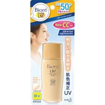 Biore UV Color Control CC Milk SPF50+/PA+++ 30ml บิโอเรยูวี คัลเลอร์ คอนโทรล ซีซี มิลค์