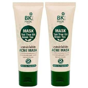 รีวิวพันทิป BK ซื้อ 1 ฟรี 1 !! Acne Mask 35g ผลิตภัณฑ์มาสก์บำรุงผิวหน้าสำหรับผู้มีปัญหาสิว บีเคมาร์ค ผสานพลังอันทรงคุณค่าในธรรมชาติ ช่วยแก้ปัญหาสิวบนใบหน้าอย่างตรงจุด