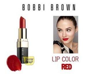 เปรียบเทียบราคา Bobbi Brown Lip Color #10 red 3.4g