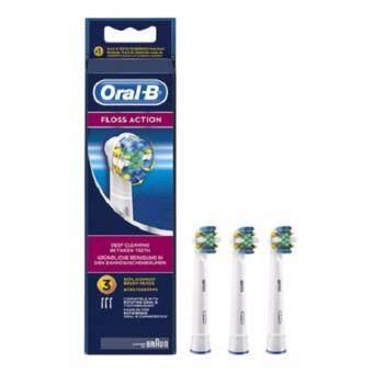 หัวแปรงสีฟันไฟฟ้า BRAUN ORAL-B FLOSS ACTIONEB25-3PCS
