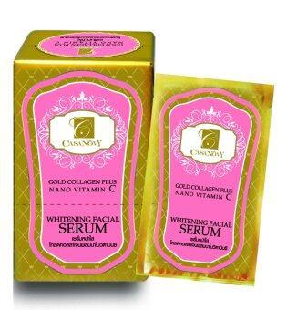 Casanovy Gold Collagen Plus Nano Vitamin C Whitening Facial Serum 10ml