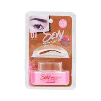 Cathy Doll Sexy Brow Stamp 3g. #01 Brown
