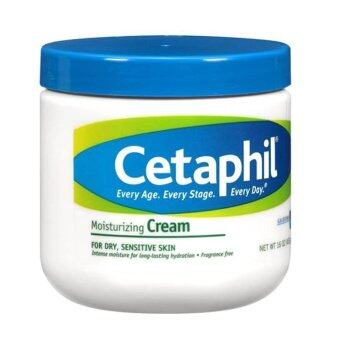 Cetaphil Moisturizing Cream for Dry  Sensitive Skin 453 g x 1 กระปุก