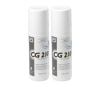 CG 210 Men Anti-Hair Loss and Scalp Essence (80 ml. x 2 ขวด)