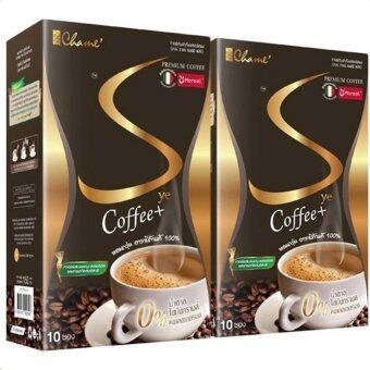 Chame Sye Coffee Plus (10ซอง) กาแฟลดน้ำหนัก กระชับสัดส่วน (2 กล่อง)