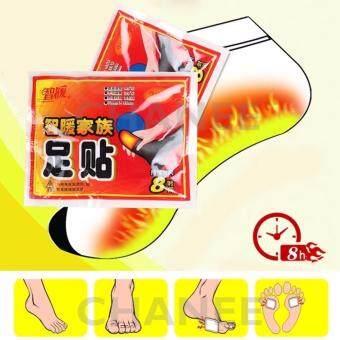 CHANEE To-Plan Plast Foot Pads แผ่นแปะเท้าประคบร้อนคลายกล้ามเนื้อ 2ห่อ