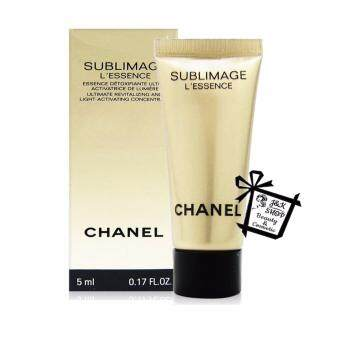 CHANEL (NEW) Sublimage L'Essence Ultimate Revitalizing &Light-Activating Concentrate 5ml. (1 ขวด)
