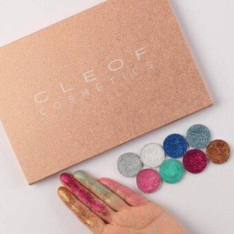 CLEOF Cosmetics Unicorn Glitter Eyeshadow Palette