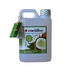 COCOLIVE น้ำมันมะพร้าวสกัดเย็น (1000ml : Refill)