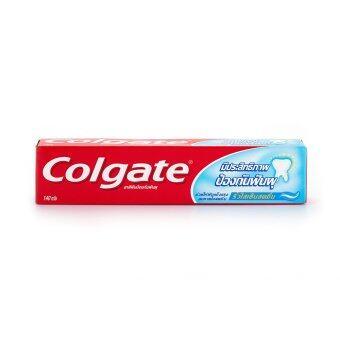 COLGATE คอลเกต ยาสีฟันริ้วใส เย็นสดชื่น 140ก.