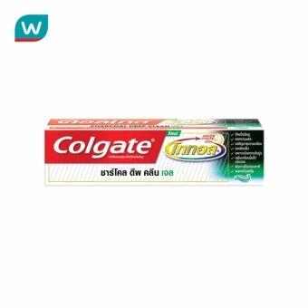 Colgate คอลเกตยาสีฟันโททอลชาโคลเจล150ก