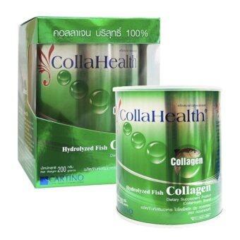 CollaHealth Collagen คอลลาเจนบริสุทธิ์ 200 g. (1 กล่อง)