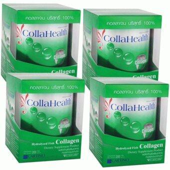 Collahealth Collagen คอลลาเฮลท์ คอลลาเจนจากปลาทะเล 200g x 4 Box