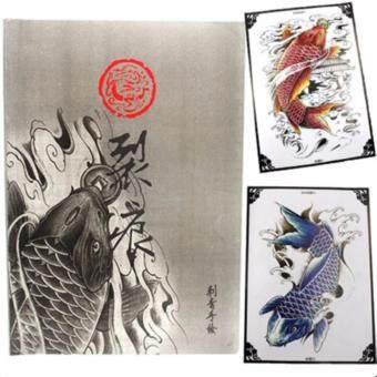 ต้องการขาย หนังสือลายสักลายปลาคาฟ หนังสือสัก รูปรอยสักสวยๆ รูปลายสักสวยๆภาพสักสวยๆ สักลายสวยๆ แบบลายสักเท่ๆ แบบรอยสักเท่ๆ ลายสักกราฟฟิกCrayfish Tattoo Manuscripts Flash Art Design Outline Sketch Book(A4 SIZE)