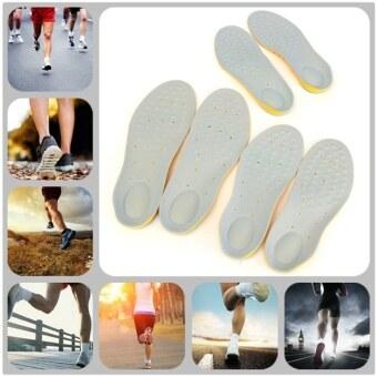 Cushii แผ่นรองรองเท้า แผ่นรองเท้า เท้าแบน กันกระแทก เมมโมรีโฟมแผ่นรองรองเท้าเพื่อสุขภาพ มี 3 ขนาด S M L - 3