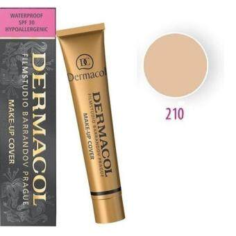 Dermacol ครีมรองพื้นเดอร์มาคอล Make Up Cover SPF30 เบอร์ 210สำหรับผิวสีธรรมชาติ