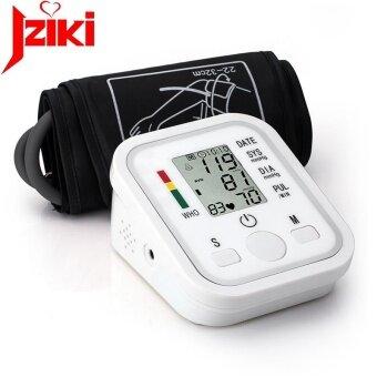 Digital Upper Arm Blood Pressure Pulse Monitors tonometer Portable health care bp Blood Pressure Monitor meters sphygmomanometer - intl