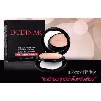 DODINAR Photoshop Powder SPF25/PA เบอร์ D2 แป้งโฟโต้ช้อป